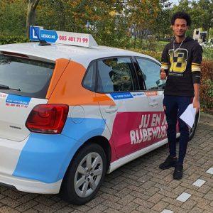 Rijschool - Geslaagd rijbewijs arnhem elst nijmegen
